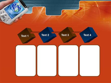 Portable Communicator PowerPoint Template Slide 18