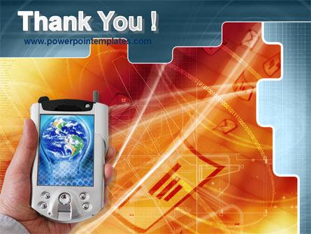 Portable Communicator PowerPoint Template Slide 20