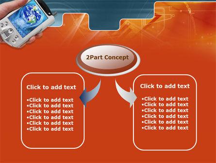 Portable Communicator PowerPoint Template Slide 4