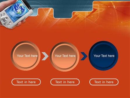Portable Communicator PowerPoint Template Slide 5