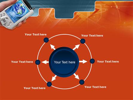 Portable Communicator PowerPoint Template Slide 7