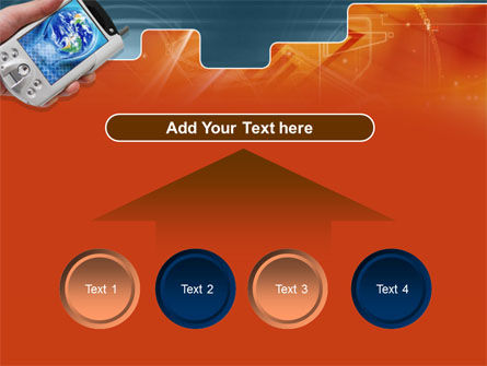 Portable Communicator PowerPoint Template Slide 8