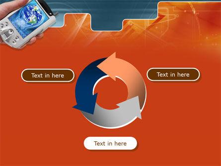 Portable Communicator PowerPoint Template Slide 9