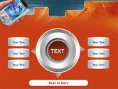 Portable Communicator PowerPoint Template#12