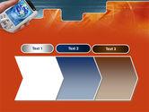 Portable Communicator PowerPoint Template#16