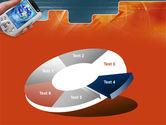 Portable Communicator PowerPoint Template#19