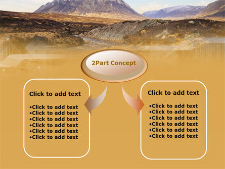 Romantic Mountain View PowerPoint Template Slide 4