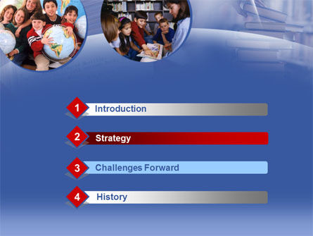 Primary Education PowerPoint Template, Slide 3, 00290, Education & Training — PoweredTemplate.com