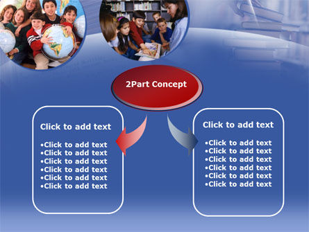 Primary Education PowerPoint Template, Slide 4, 00290, Education & Training — PoweredTemplate.com