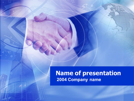 Deal PowerPoint Template, 00293, Global — PoweredTemplate.com