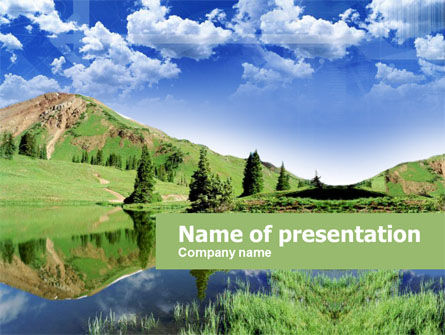 Alpine Meadows PowerPoint Template