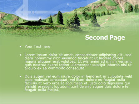 Alpine Meadows PowerPoint Template Slide 2