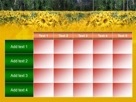 Alpine Flowering Meadows PowerPoint Template Slide 15