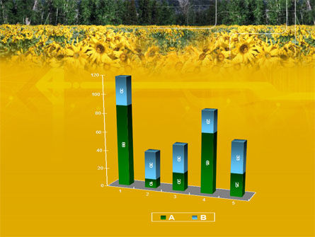 Alpine Flowering Meadows PowerPoint Template Slide 17