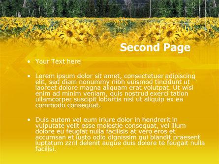 Alpine Flowering Meadows PowerPoint Template, Slide 2, 00295, Nature & Environment — PoweredTemplate.com