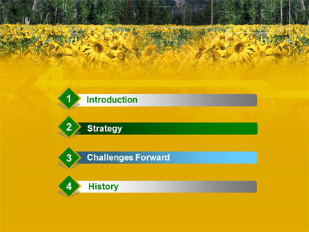 Alpine Flowering Meadows PowerPoint Template, Slide 3, 00295, Nature & Environment — PoweredTemplate.com