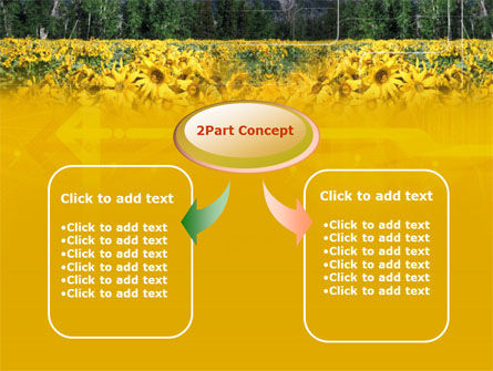 Alpine Flowering Meadows PowerPoint Template, Slide 4, 00295, Nature & Environment — PoweredTemplate.com
