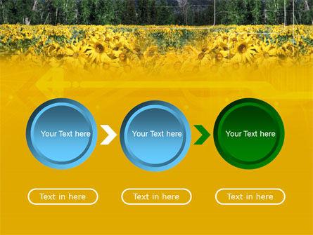 Alpine Flowering Meadows PowerPoint Template Slide 5