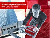 Business Concepts: Plantilla de PowerPoint - carrera carrera #00296