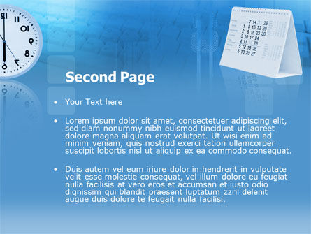 Looking Forward PowerPoint Template, Slide 2, 00300, Business Concepts — PoweredTemplate.com