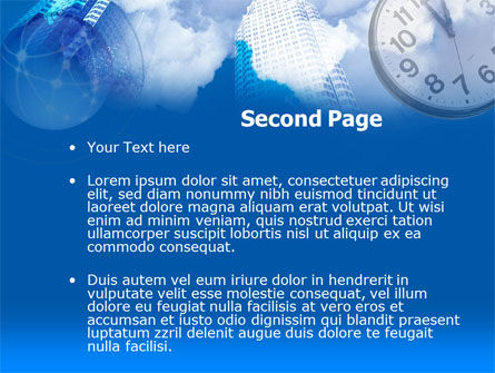 Timing PowerPoint Template, Slide 2, 00301, Construction — PoweredTemplate.com