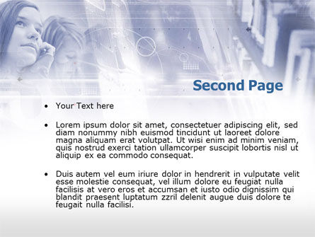 Colloquium PowerPoint Template Slide 2