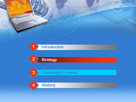 Mobile Communication Devices PowerPoint Template Slide 3