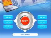 Mobile Communication Devices PowerPoint Template#12