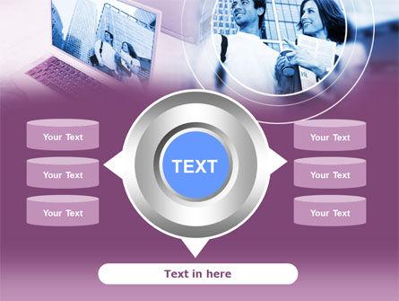 Computer World PowerPoint Template Slide 12