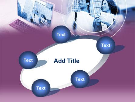 Computer World PowerPoint Template Slide 14