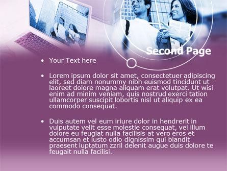 Computer World PowerPoint Template Slide 2