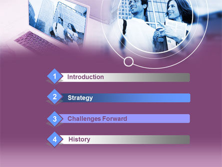 Computer World PowerPoint Template, Slide 3, 00305, Careers/Industry — PoweredTemplate.com