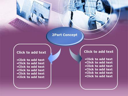 Computer World PowerPoint Template, Slide 4, 00305, Careers/Industry — PoweredTemplate.com