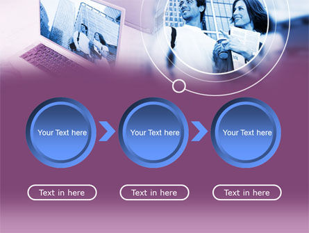 Computer World PowerPoint Template Slide 5