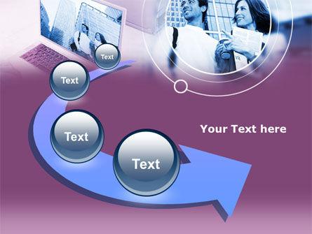Computer World PowerPoint Template Slide 6