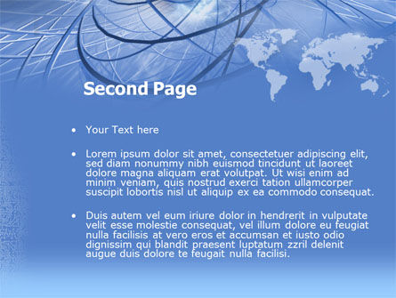 Telecommunications Links PowerPoint Template Slide 2