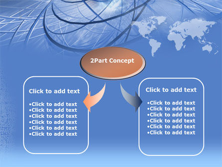 Telecommunications Links PowerPoint Template Slide 4