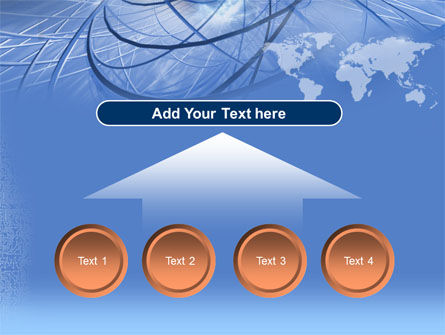 Telecommunications Links PowerPoint Template Slide 8