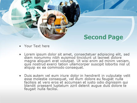 On the Job PowerPoint Template, Slide 2, 00310, Business Concepts — PoweredTemplate.com