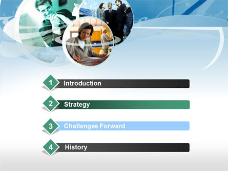 On the Job PowerPoint Template, Slide 3, 00310, Business Concepts — PoweredTemplate.com