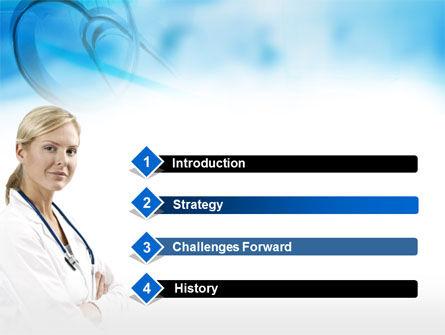 Head Nurse PowerPoint Template, Slide 3, 00311, Medical — PoweredTemplate.com