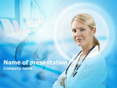 Medical: Hoofdzuster PowerPoint Template #00311