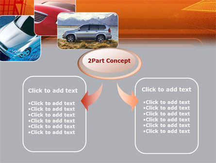 Motor Vehicle PowerPoint Template, Slide 4, 00312, Cars and Transportation — PoweredTemplate.com