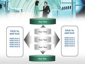Business lady Trip PowerPoint Template#13