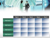 Business lady Trip PowerPoint Template#15