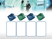 Business lady Trip PowerPoint Template#18