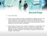 Business lady Trip PowerPoint Template#2