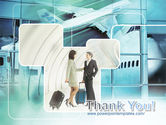 Business lady Trip PowerPoint Template#20