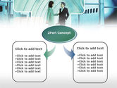 Business lady Trip PowerPoint Template#4