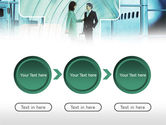 Business lady Trip PowerPoint Template#5